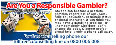 Problem Gambling Toll-Free Number